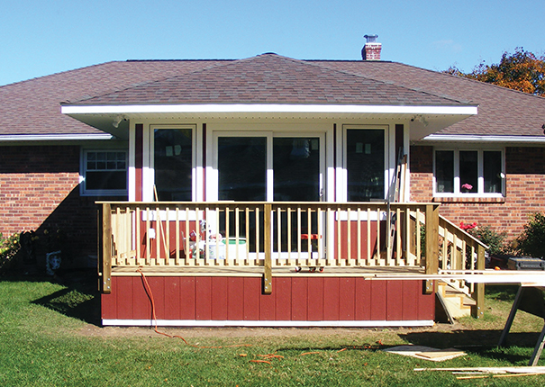 Porch Vs Deck Which Is The More Befitting For Your Home: Traditionally-Framed Sunroom Home Additions